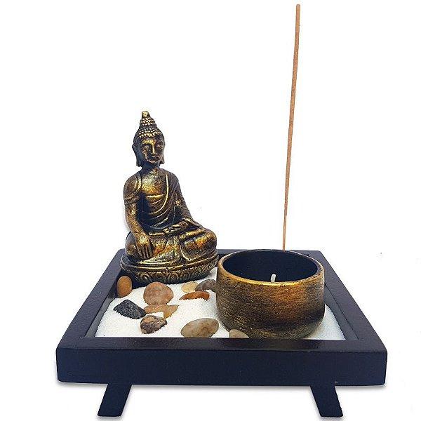 Jardim Zen Buda c/ Porta-Vela