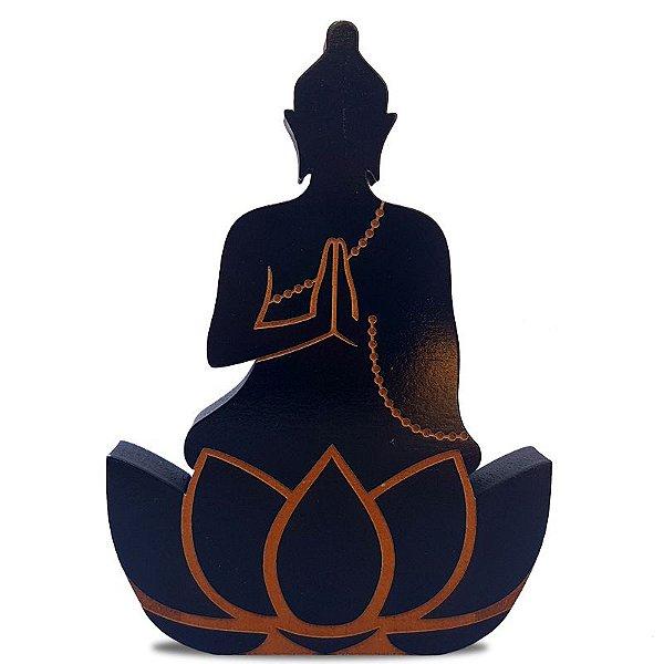 Enfeite Buda Zen em Mdf