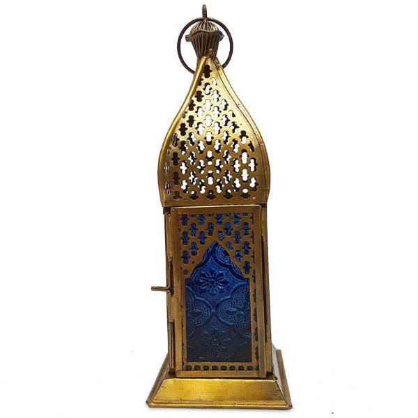 Lanterna Indiana Decorativa Gold