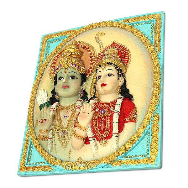Placa Casal Rama e Sita