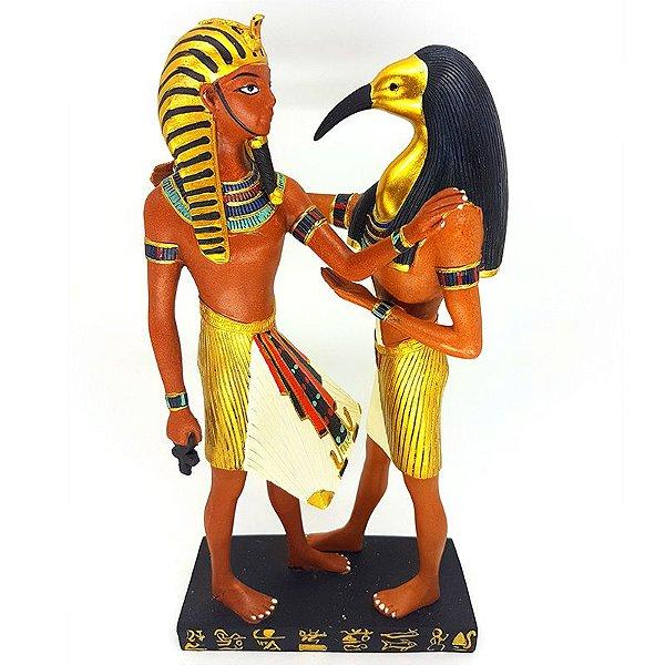 Estátua Figuras Egípcias em Resina