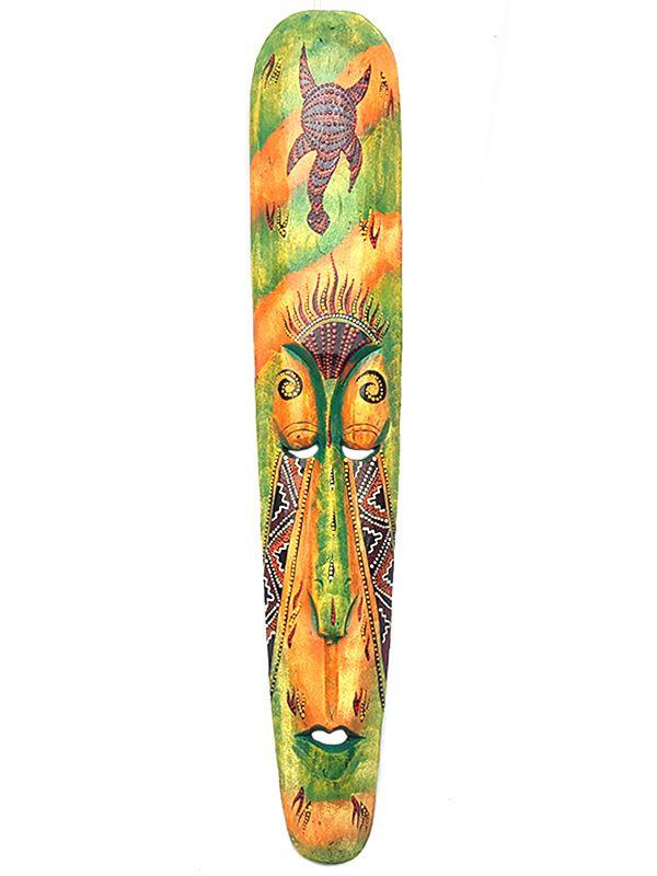 Máscara Colorida de Bali 100cm