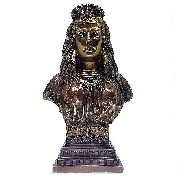 Busto Rainha Egípcia Nefertari
