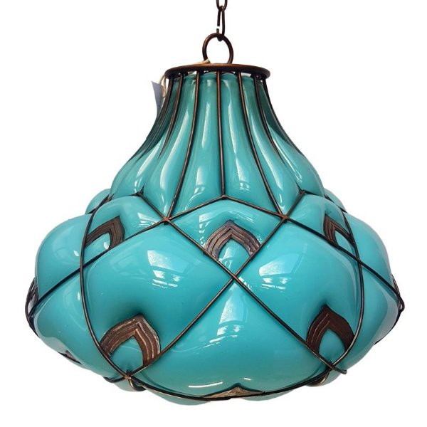 Luminária de Teto Vidro Soprado - Filipinas
