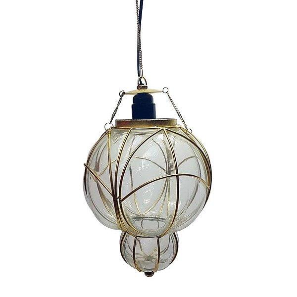Luminária de Vidro Soprado - Filipinas