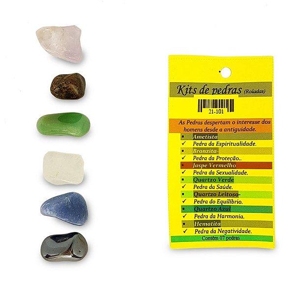 Kit de Pedras Variadas