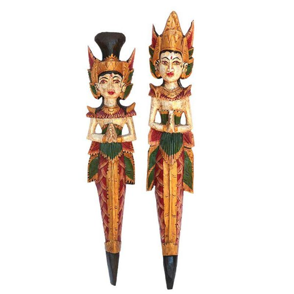 Casal Rama e Sita Antik 60cm