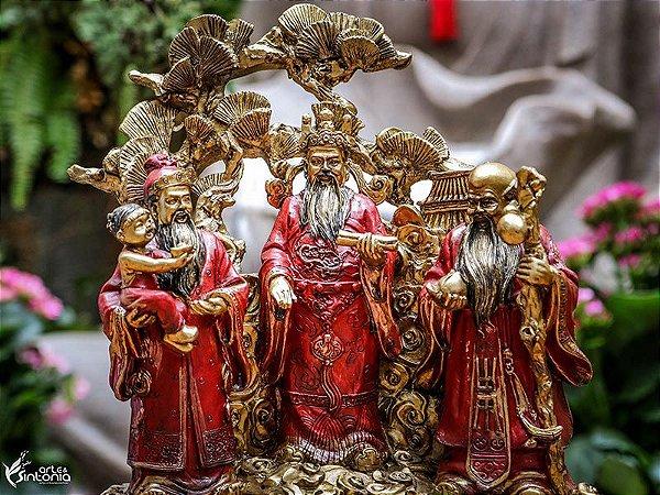 Estátua Deuses Chineses Feng Shui
