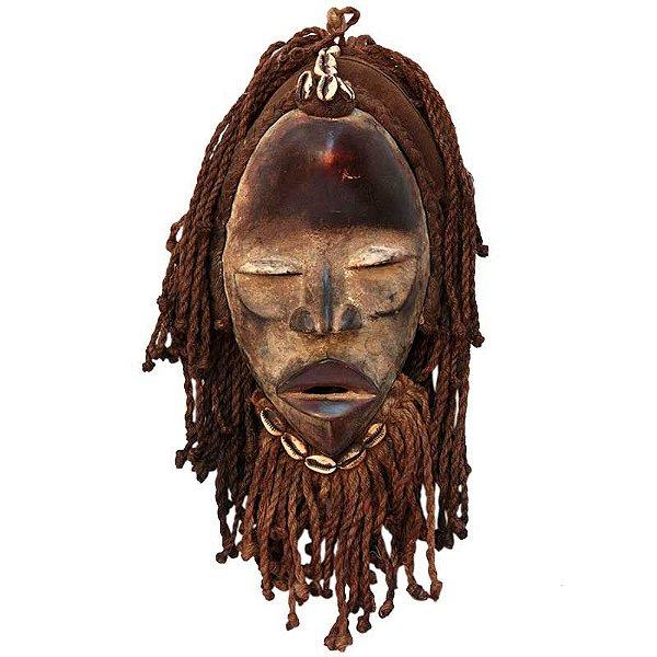 Máscara Africana Tribo Dan Original