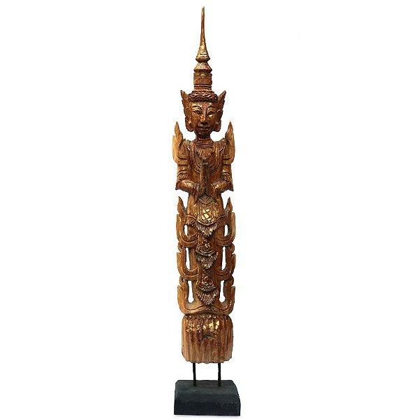 Escultura Guardião Budista Thepphanom 80cm