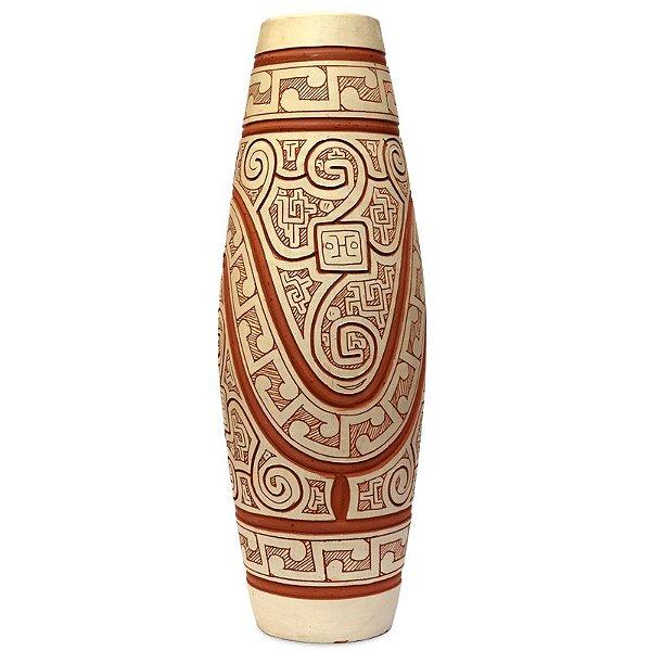 Vaso Tribal Maori de Bali