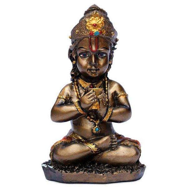 Par de Estátuas Deus Krishna
