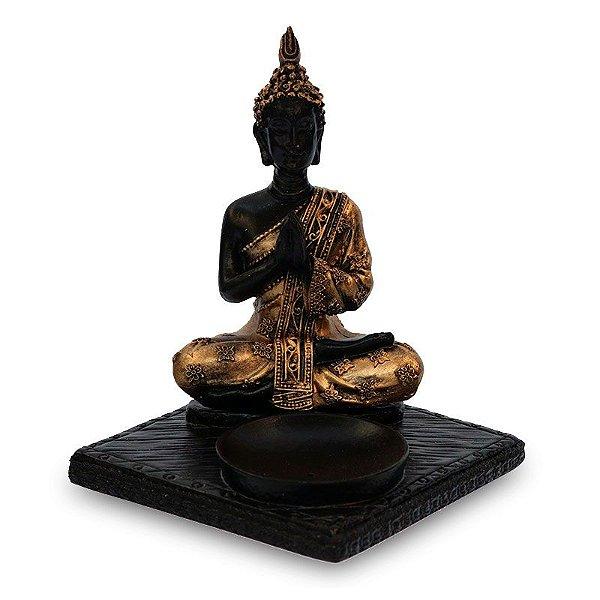 Incensário Buda Tailandês Zen