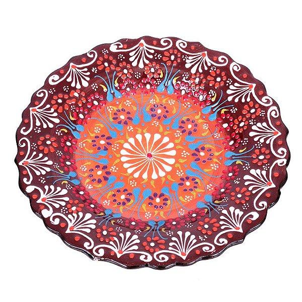 Prato em Cerâmica Turca 18cm
