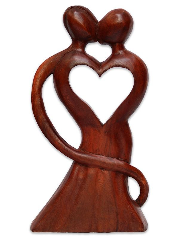 """Escultura Abstrata """"Raízes do Amor"""""""