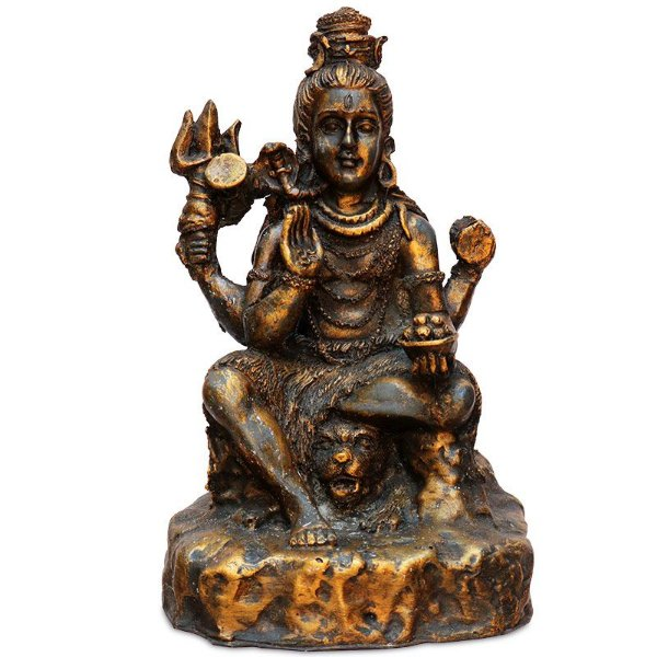 Escultura Shiva Resina De Bali