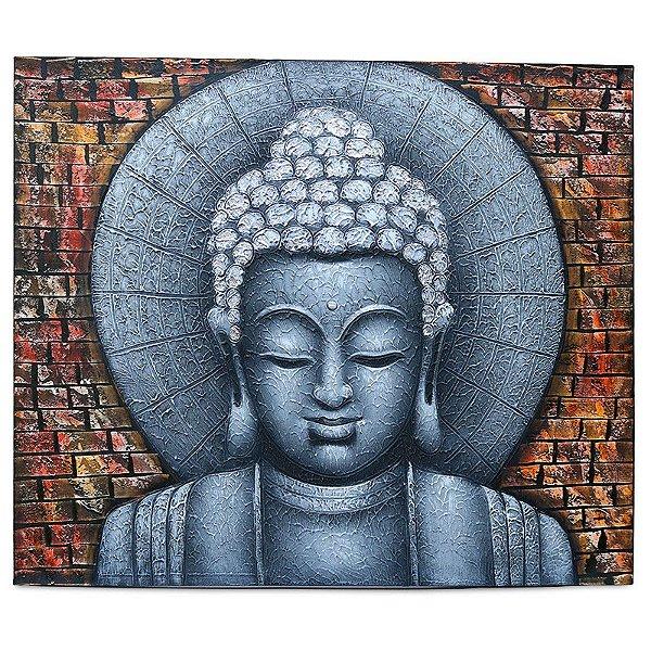 """Tela """"A Muralha De Buda"""" 100x120cm"""
