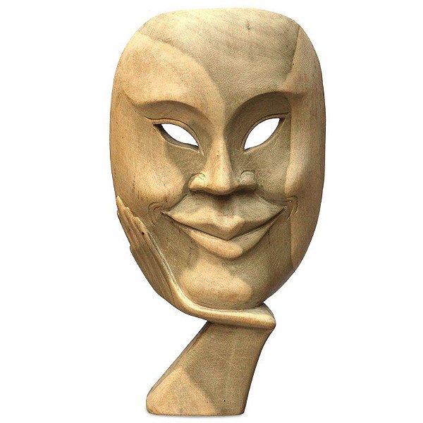 """Máscara """"O Irônico"""" Teatro Grego"""
