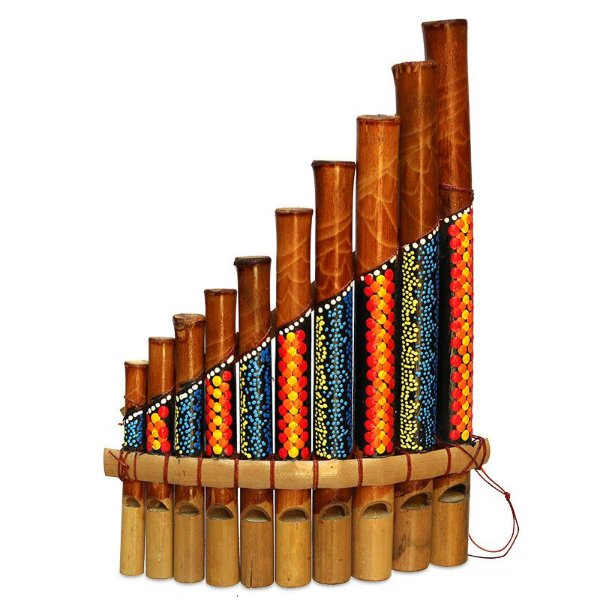 Flauta Samponã Tribal Bali