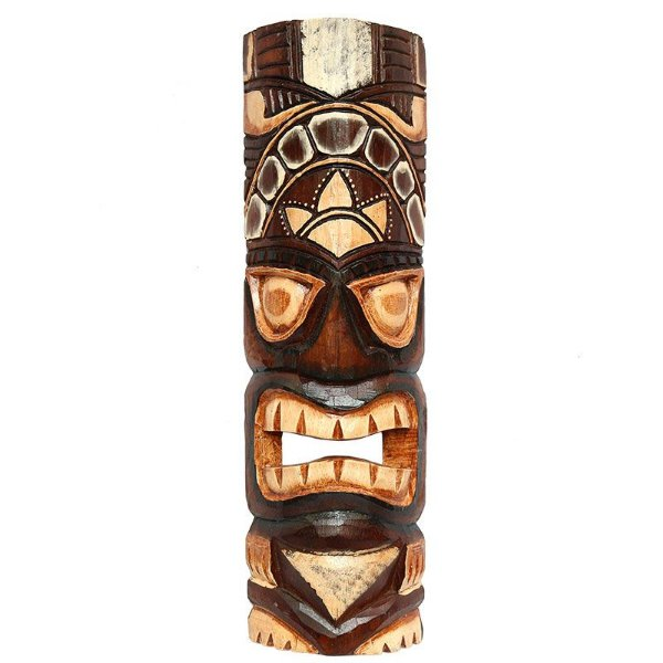 Máscara Carranca Hawaiana Tiki 50cm