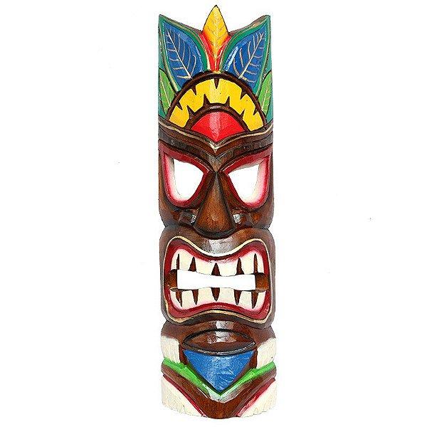 Máscara Totem Hawaiana Color 50cm