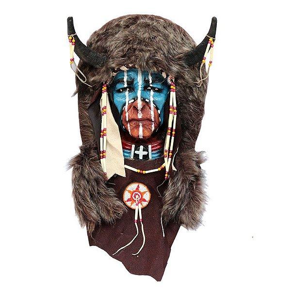 Máscara Guerreiro Índio Sioux