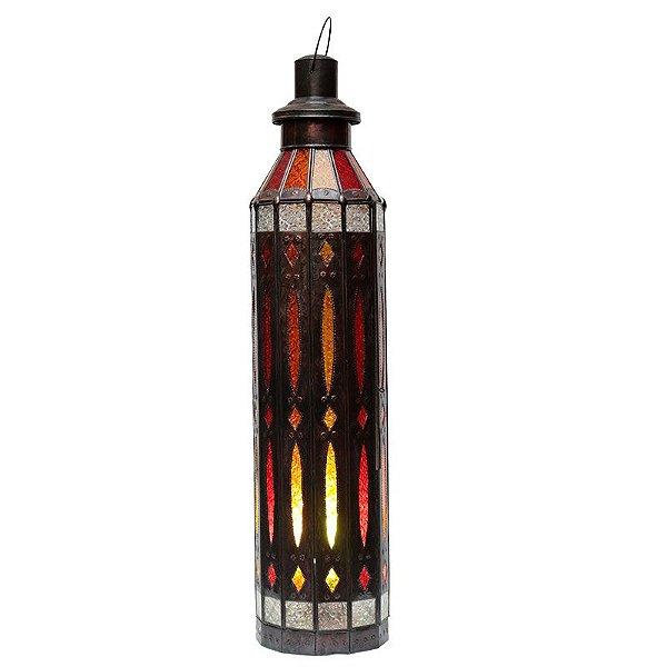 Abajur Lanterna Marrakesh Color 90x23cm