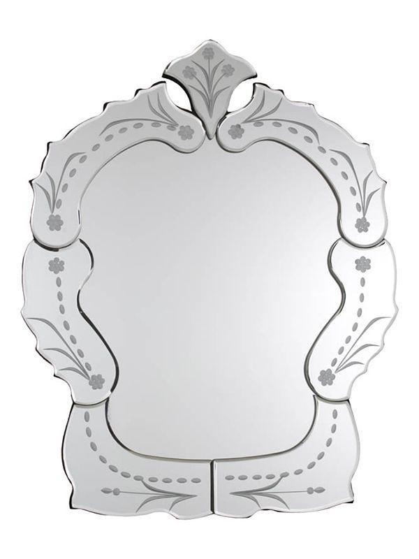 Espelho Veneziano Vintage para Decoração - 50x30cm