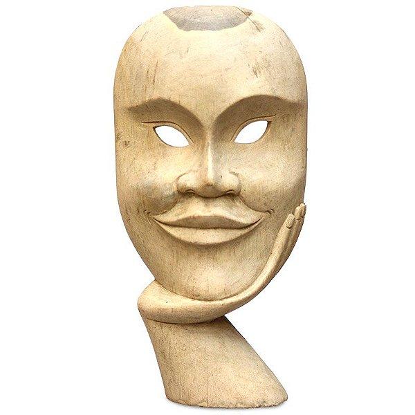"""Máscara Teatro Grego """"O Irônico"""""""