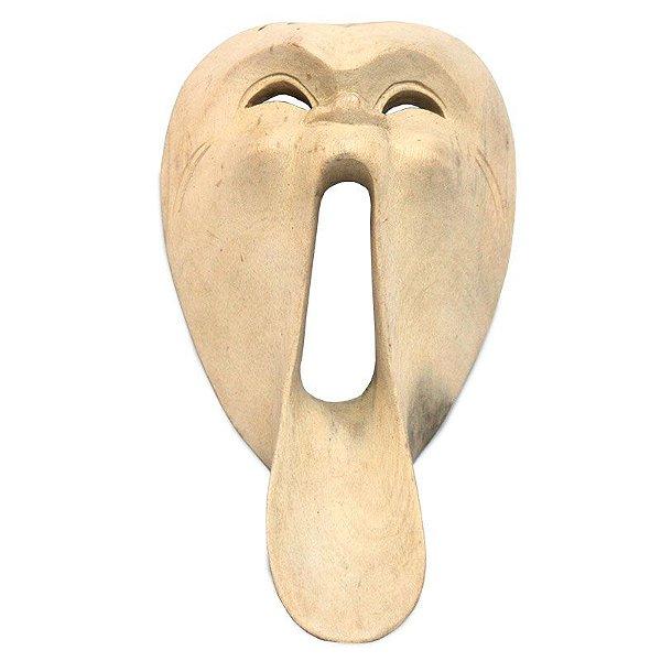 Máscara Teatro Pânico em Madeira