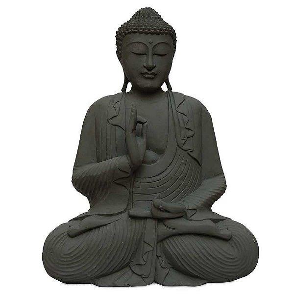 Estátua Buda em Cimento 60cm
