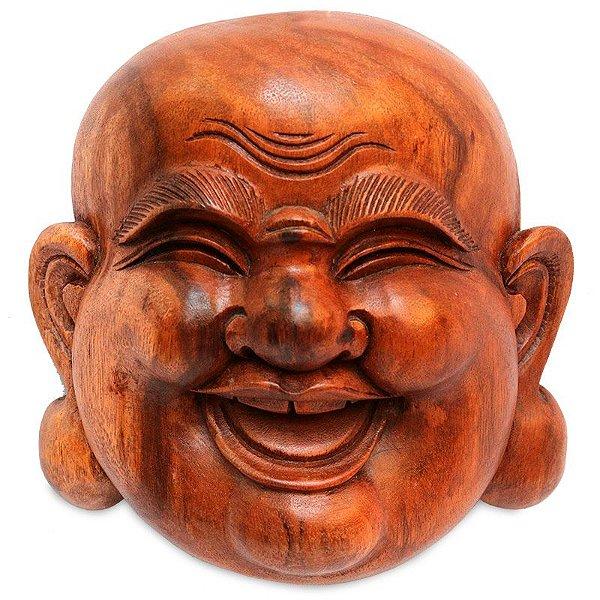 Cabeça Buda Feliz 30cm