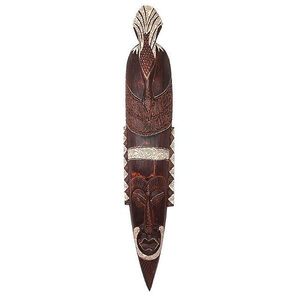 Máscara Decorativa Africana 100cm