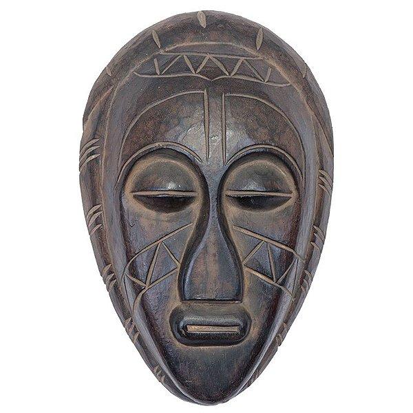 Máscara Africana em Madeira - Bali