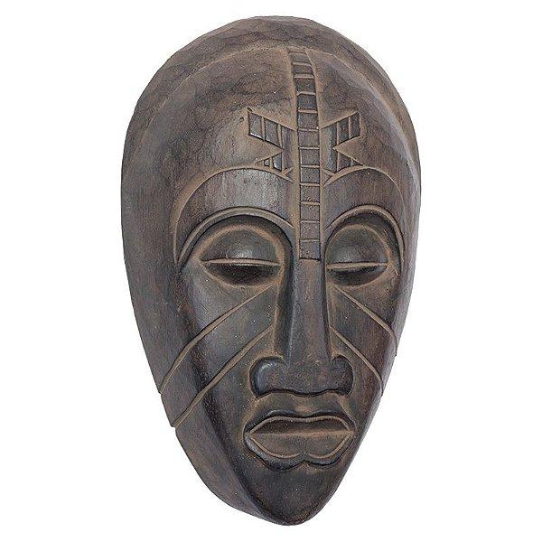 Máscara Africana em Madeira 30cm