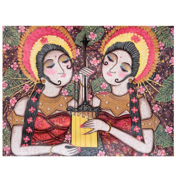 Tela Balinesa Tradicional 70x90cm