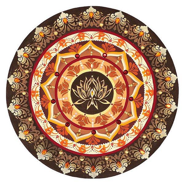 Mandala Colorida Flor de Lótus 50cm