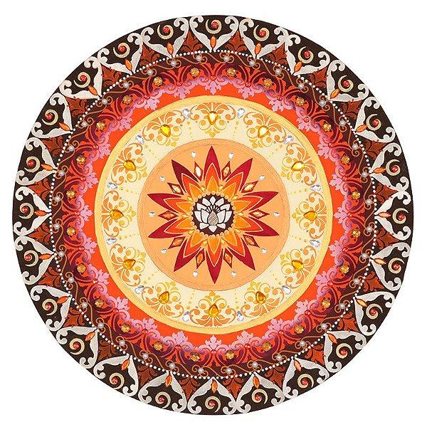 Mandala Decorativa Flor de Lótus 50cm