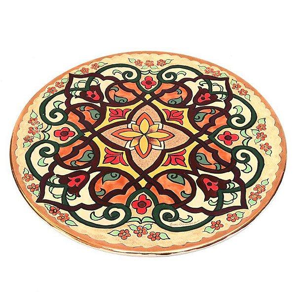 Prato Decorativo de Porcelana 30cm