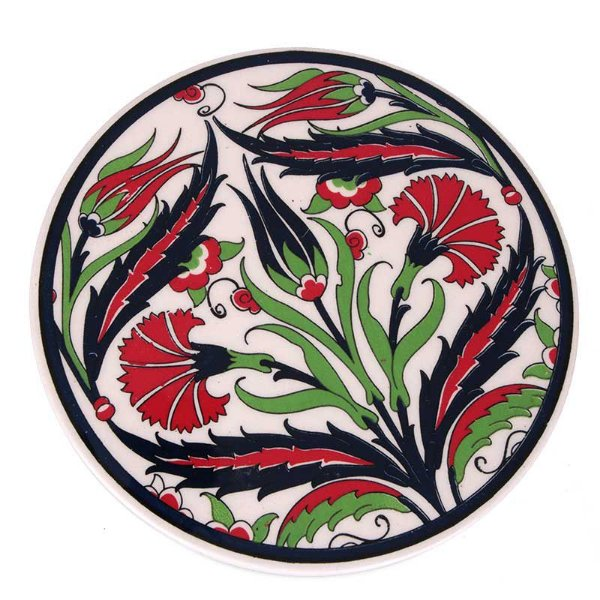 Descanso p/ Panela em Cerâmica Turca