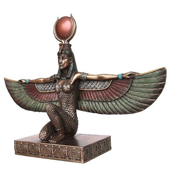 Escultura Egípcia Ísis   Deusa do Amor