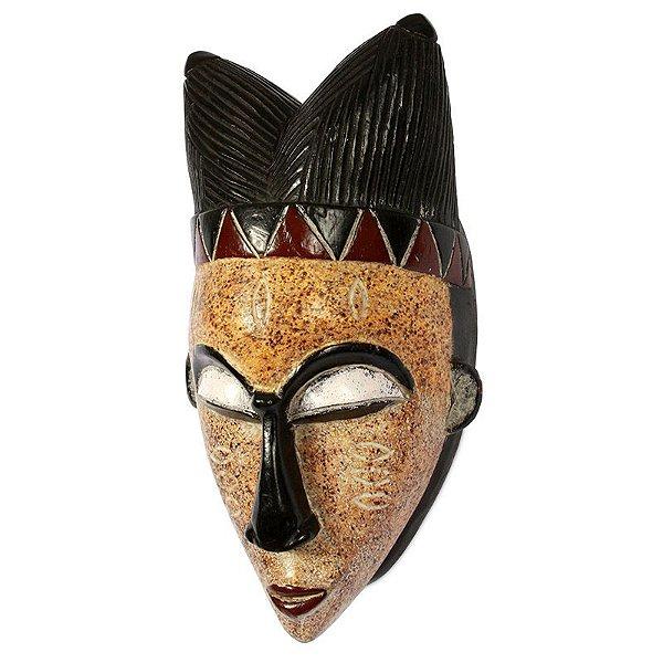 Máscara Africana em Madeira 40cm