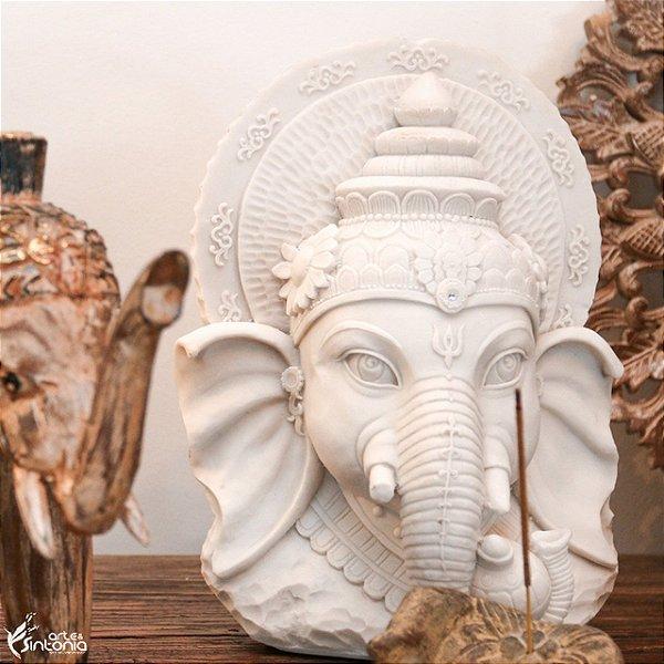 Cabeça de Ganesh 30cm | Marmorite