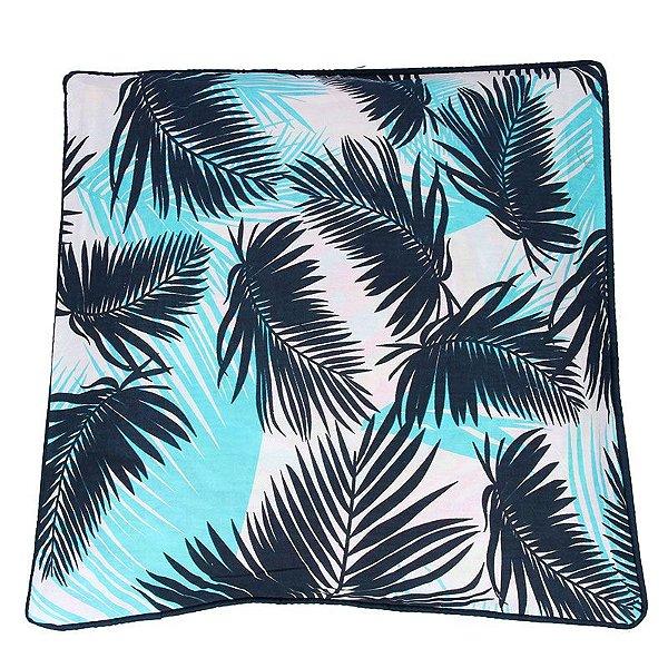 Capa de Almofada Tropical   Folhas Color