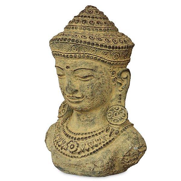 Busto de Buda em Cimento | Bali