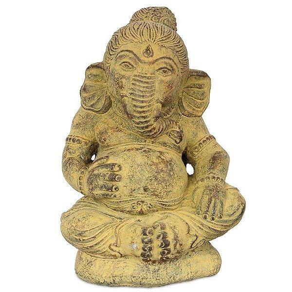 Deus Ganesh em Cimento p/ Jardim   Bali