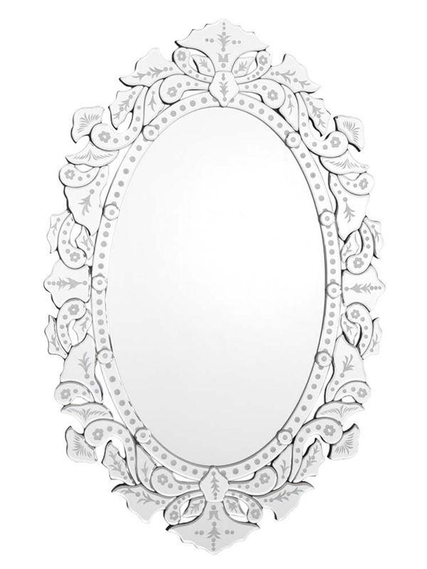 Espelho Veneziano Oval 110x75cm - Home Design