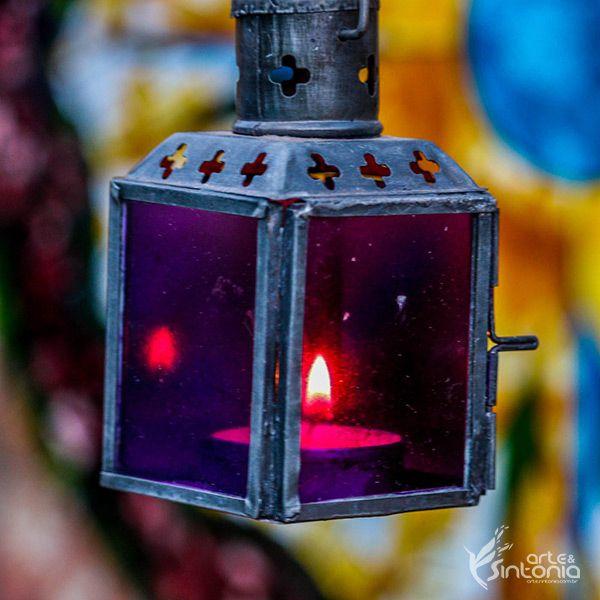 Lanterna Decorativa p/ Velas - Chit