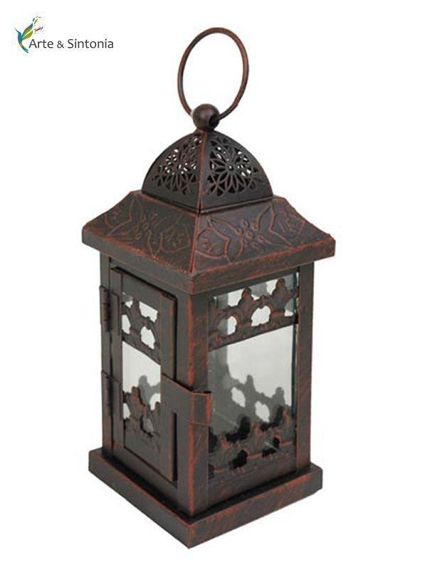 Lanterna Marroquina Velas 17cm