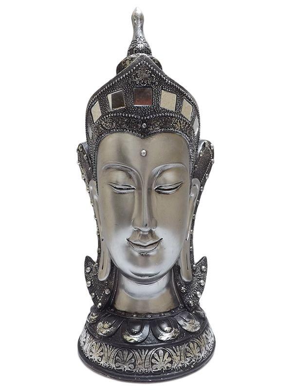 Cabeça de Buda p/ Decoração 36cm